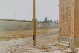Ost-Berlin, Mauer, Grenzstreifen, DDR 1990, © Martin Zitzlaff